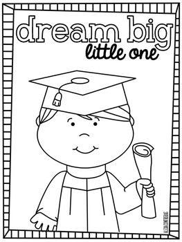 Dream Big Little One {Graduation FREEBIE in English and Spanish}