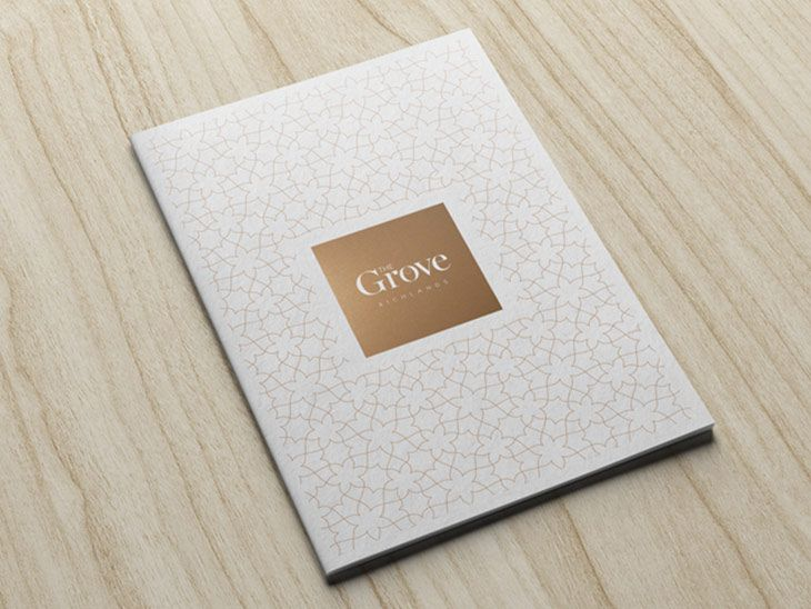 Best High End Corporate Branding Images On   Brochure