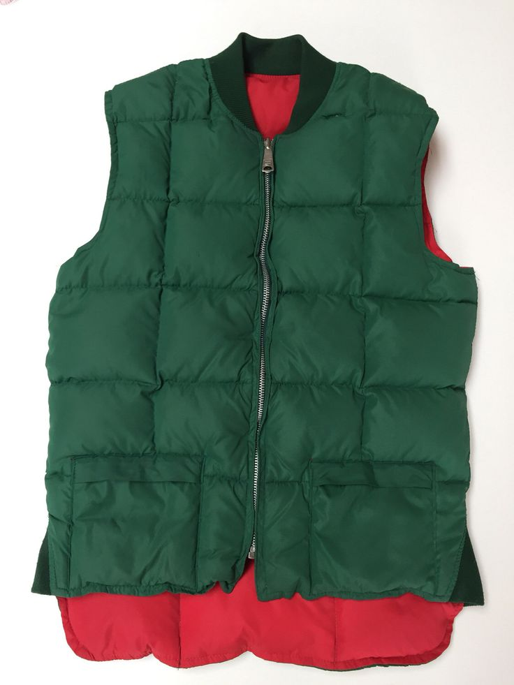 A personal favorite from my Etsy shop https://www.etsy.com/ca/listing/494956766/vintage-pioneer-down-vest-puffer-vest