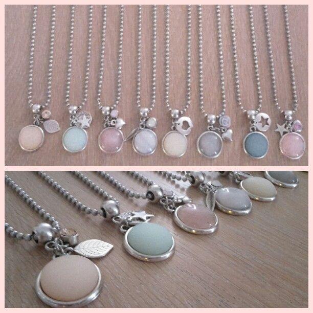 Handmade ballchain necklaces by Lievelot ♡