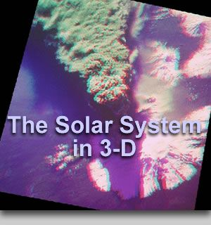 The Solar System in 3-D