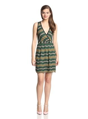 58% OFF M Missoni Women's Suprlice Dress (Green Multi)