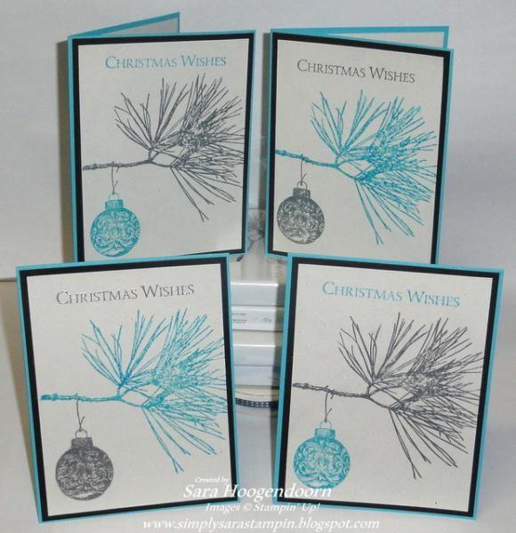 Ornamental Pine Christmas Wishes