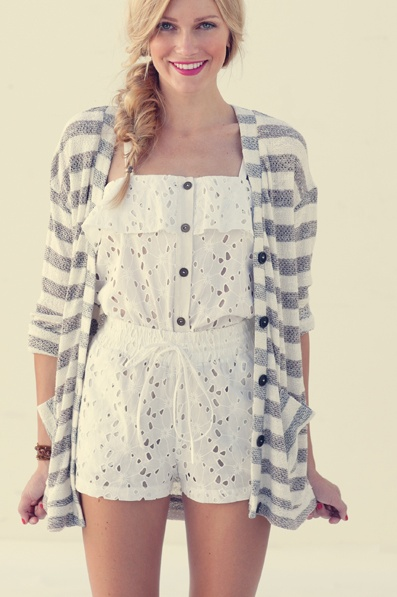 Omg I want that romper so bad.: Teen Fashion, Dreams Closet, Diy Fashion, Summer Style, Cute Outfits, Spring Summer, Summer Outfits, White Lace, Cute Rompers