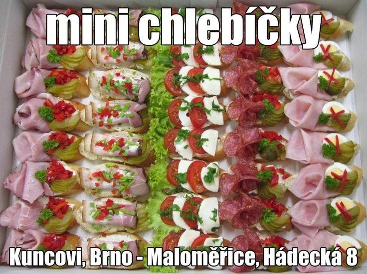 obložené chlebíčky Kuncovi, Brno - Maloměřice,  Hádecká 8, www.cukrovi-kuncovi.cz