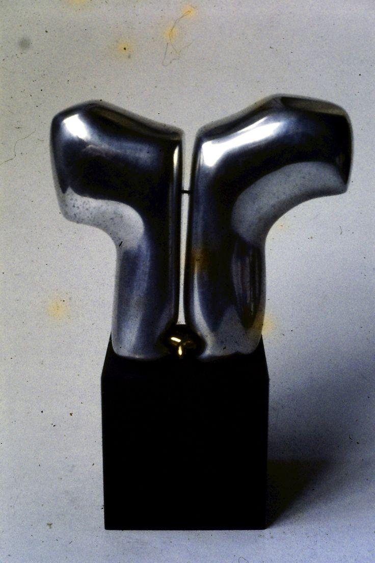 David - Cast aluminium + cast bronze