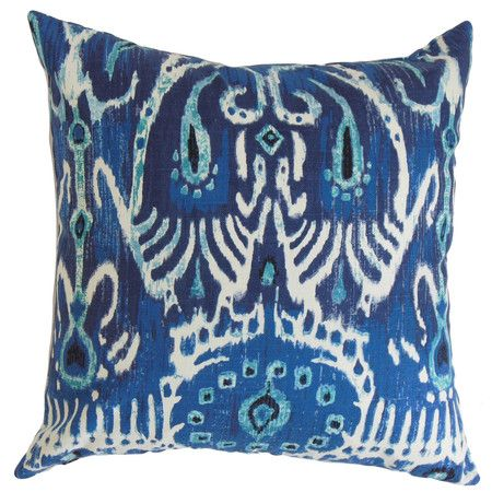 for the family room: Blue Rooms, Cotton Pillows, Ikat Motif, Ikat Pillows, Accent Pillows, Reading Nooks, Throw Pillows, Products, Pillowconstruct Materials