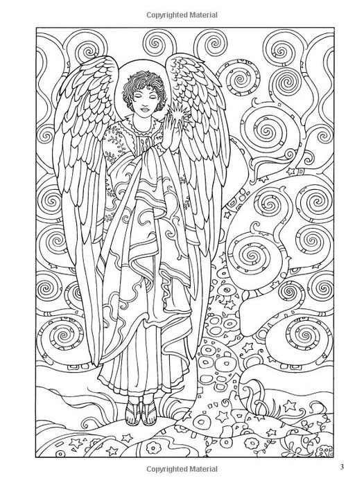 sophisticated angels coloring dover s marty nle so dover coloring pages