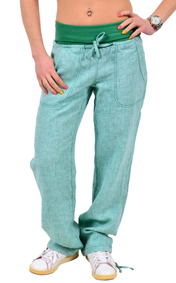 """Льняные брюки """"URTICA""""."""