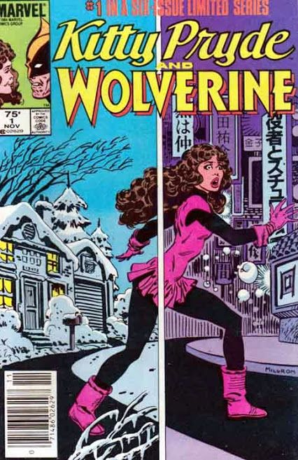 """Kitty Pryde and Wolverine """"Lies!"""" Written by Chris Claremont. Art by Al Milgrom. NOTE: The events of this story take place after Uncanny X-Men (1963-2011) #182. Heartbroken after her break up with Peter (Colossus), Kitty decides to go home to her parents to recoup."""