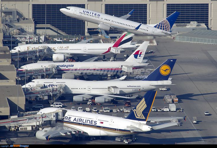 Airborne off lax runway 25r with a singapore airlines for Singapore airlines sito italiano
