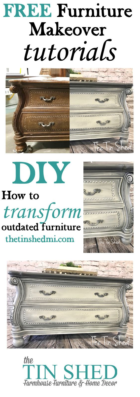 Blending paint on furniture, DIY painted furniture inspiration, free tutorial