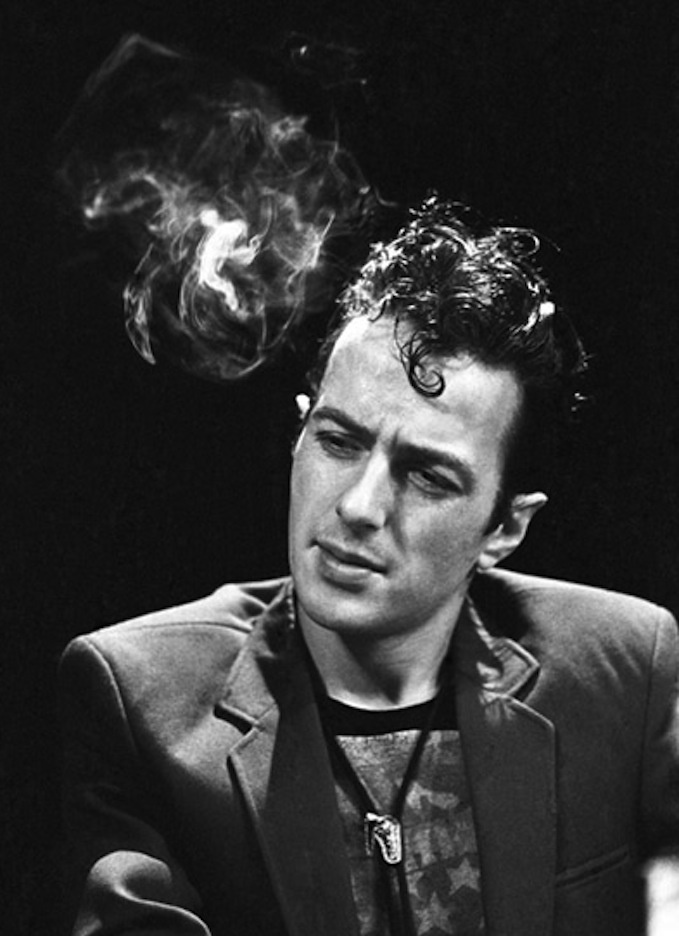 Joe Strummer - the punk Icon I'm most like. Yeah. I can dig it.