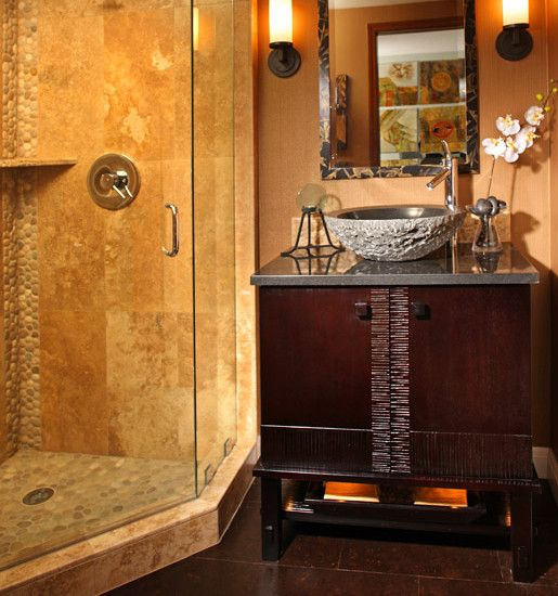 30 best images about asian inspirided bathrooms on for Asian style bathroom designs