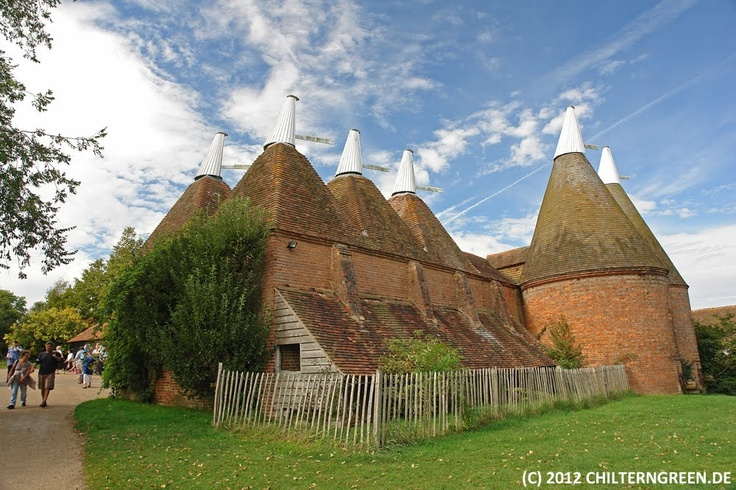 Oast house at Sissinhurst Castle