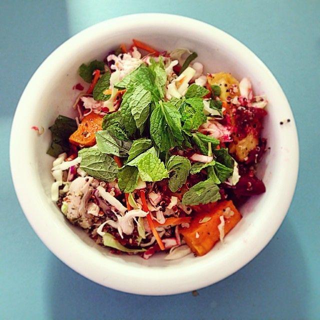 Roast Chicken Salad from the I Quit Sugar 8-Week Program.