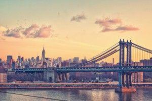 New York City Manhattan Bridge Photography HD Wallpaper
