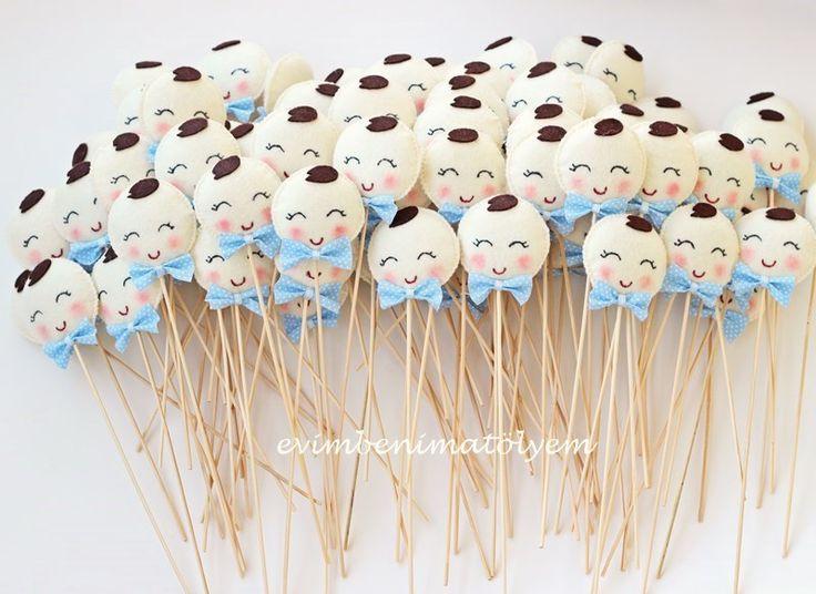 Çubuklu bebek şekerleri
