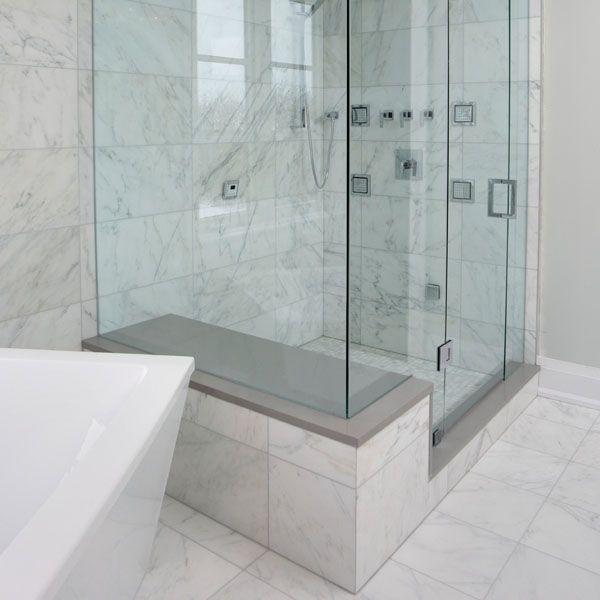 Bianco Carrara Marble Tile Flooring For The Foyer Pinterest Marbles