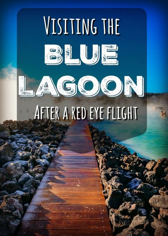 Visiting the Blue Lagoon in Iceland after a red eye flight can be a great way to relax, and it is really close to the airport