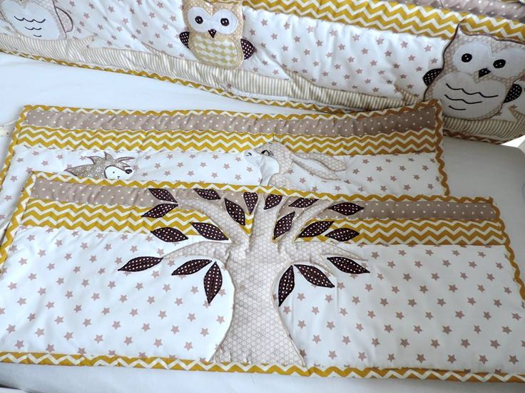 Bumper or bumperless woodland crib bedding set. It'a all up to your choice. Order here: https://www.etsy.com/listing/468820148/woodland-nursery-bedding-woodland-crib?ref=listing-shop-header-3