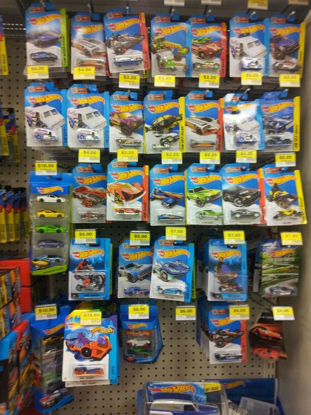 Hotwheels pegs Big W