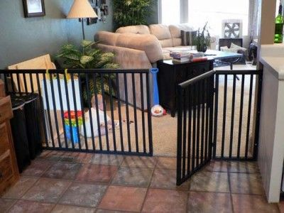 diy anysize baby or dog these things are so so expensive to buy nice alternative to save money great idea for a puppy gate because puppy gates are - Puppy Gates