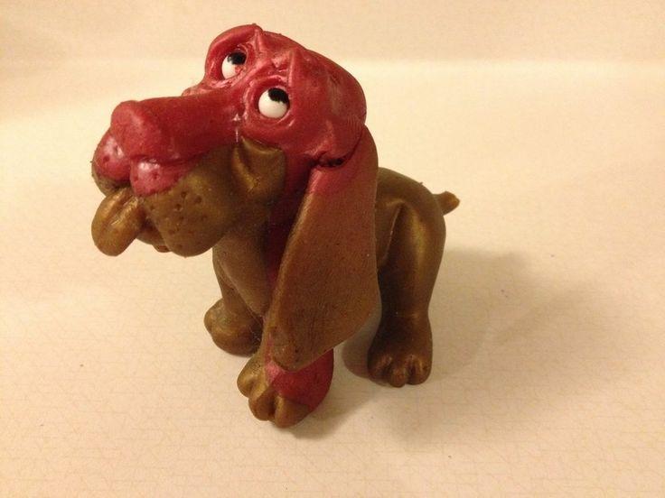 Vtg 1968 Russ Berrie Oily Jiggler Basset Hound Dog