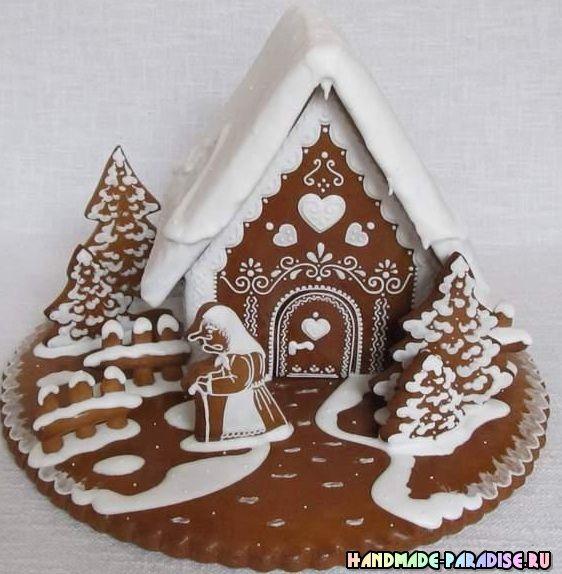 Лучший подарок своими руками - рождественские пряники