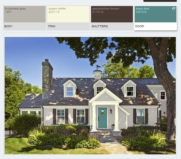 Matching Paint To Brick Exterior