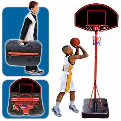 Large #portable #childrens free #standing basketball net set hoop ball carry case,  View more on the LINK: http://www.zeppy.io/product/gb/2/151714961872/