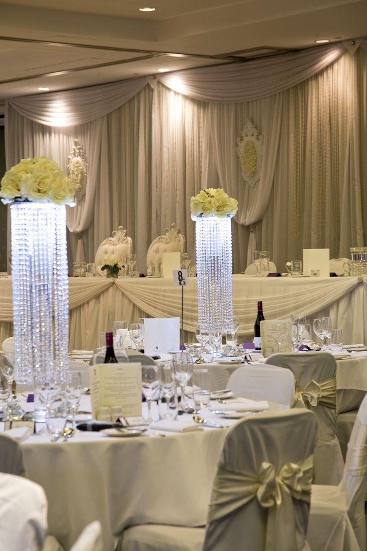 Ballroom Wedding Set Up