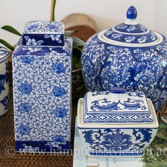 Blue & White ceramics do make a great gift idea ... just quietly sayin'
