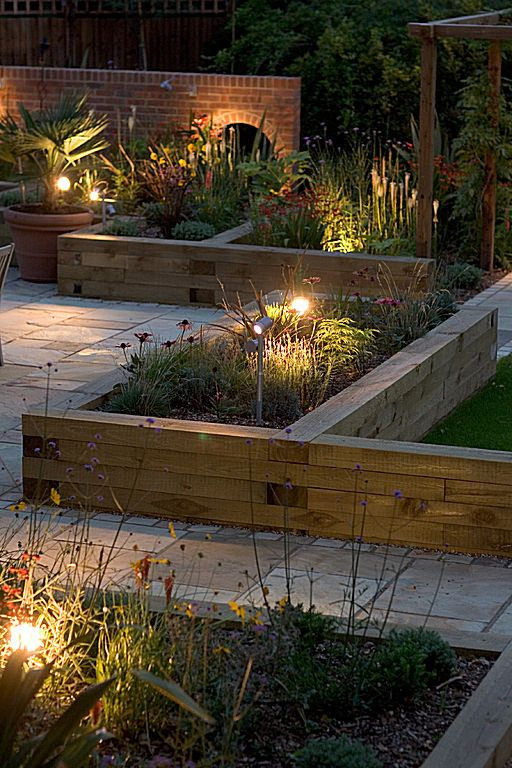 Softwood Timber Raised Sleeper Beds   Gardening Take   Gardening Aisle