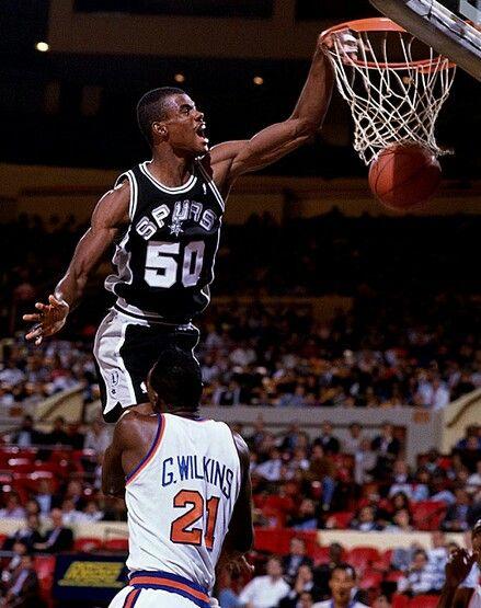 David Robinson of the San Antonio Spurs