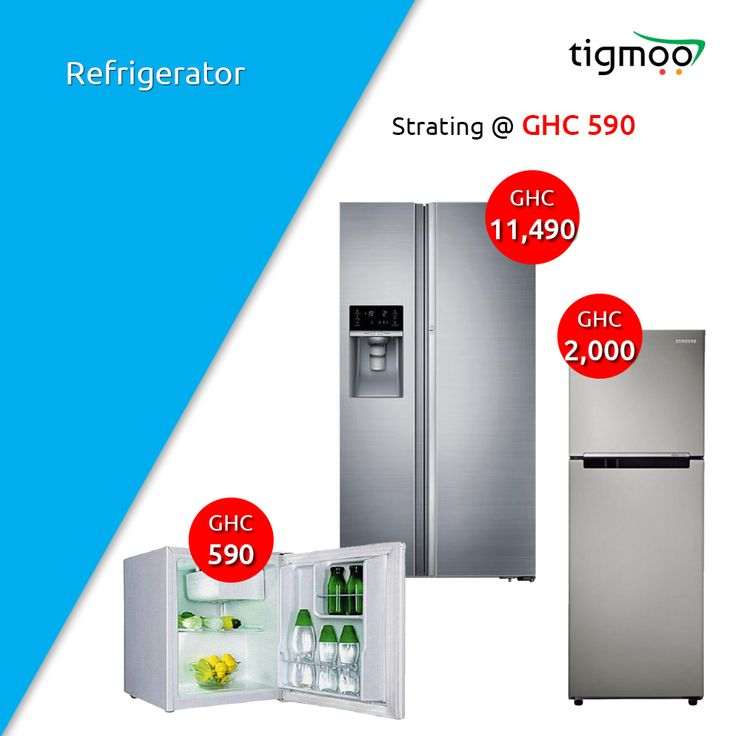 Available #Refrigerators online in Ghana at #Tigmoo Online shopping store You can get the delivery services to your doorstep on order online https://www.tigmoo.com.gh/home-appliances/refrigerator.html #FreeShipping, #KitchenAppliance, #TigmooGhana