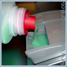 Detergente casero para el lavavajillas, con thermomix