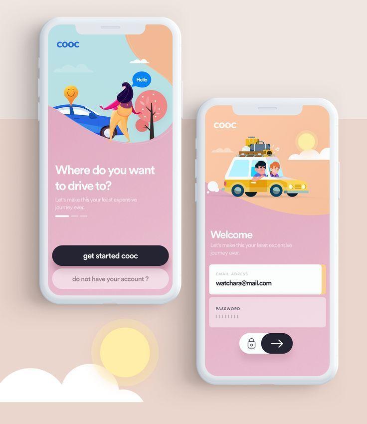 2020 Design Trend In 2020 App Interface Design App Design Web App Design