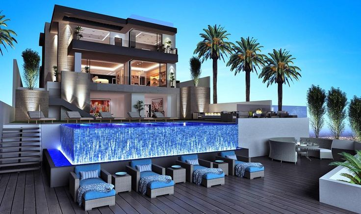 800 N Tigertail Road Brentwood Indoor Outdoor Living Pool Spa And Outdoor Living