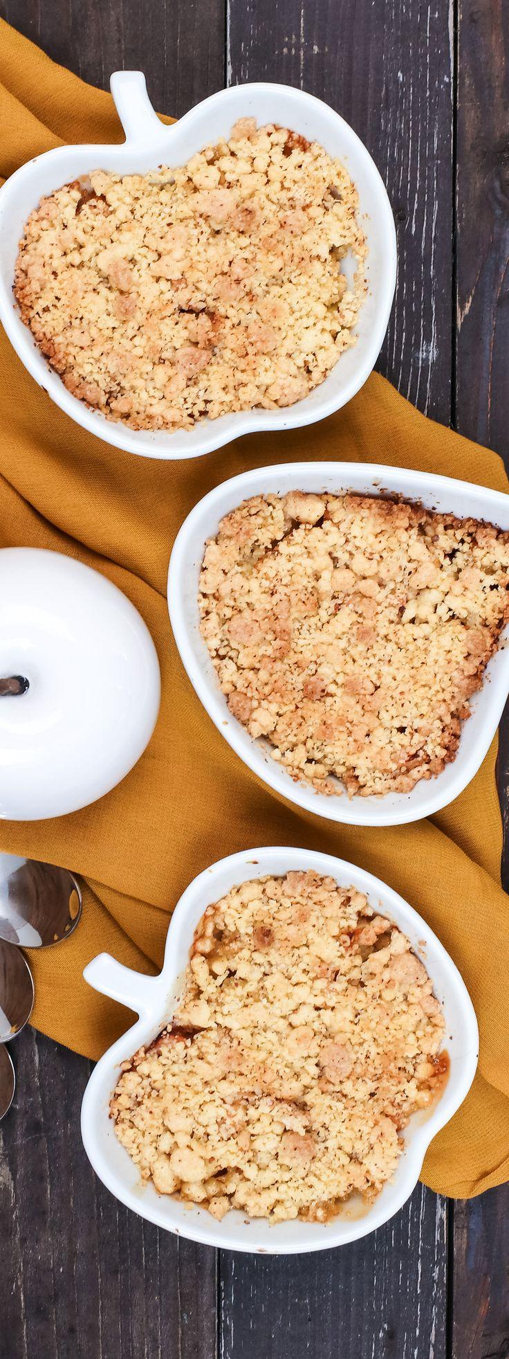 Rezept: Apfel-Quitten-Crumble - Das perfekte Herbst-Dessert | Filizity.com | Food-Blog aus Koblenz #herbst #apfel