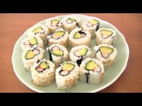 How to Make California Roll (Sushi Rolls) Recipe カリフォルニアロールの作り方レシピ