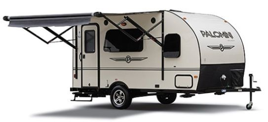 2014 Palomino PaloMini 150RBS Lite Weight Travel Trailer. See the review at roamingtimes.com
