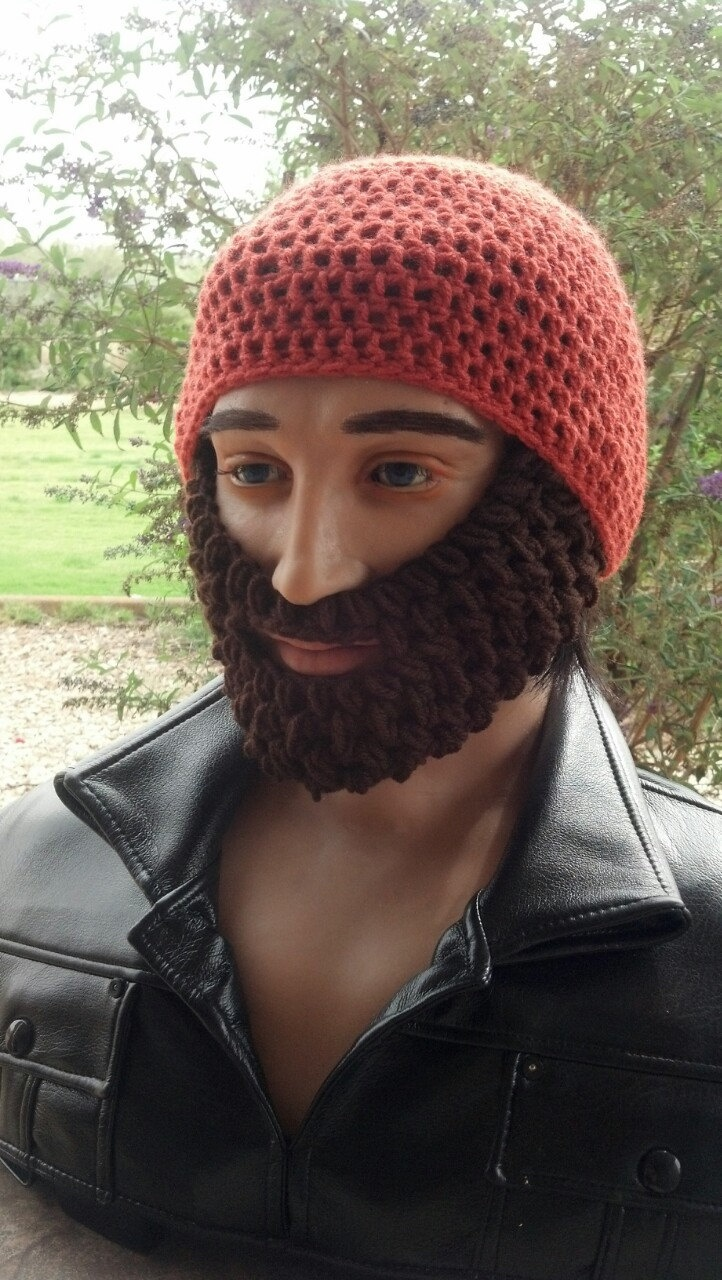 Crochet Pirate Hat With Beard Pattern