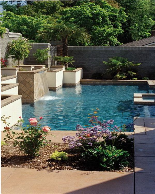 Landscaped Backyards With Pools: 248 Best Outdoor Design Ideas Images On Pinterest