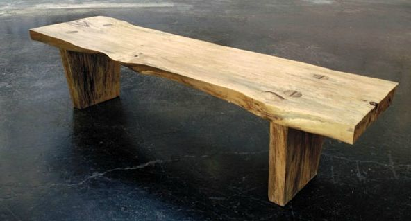 Live Edge Wood Bench Furniture Pinterest Entryway