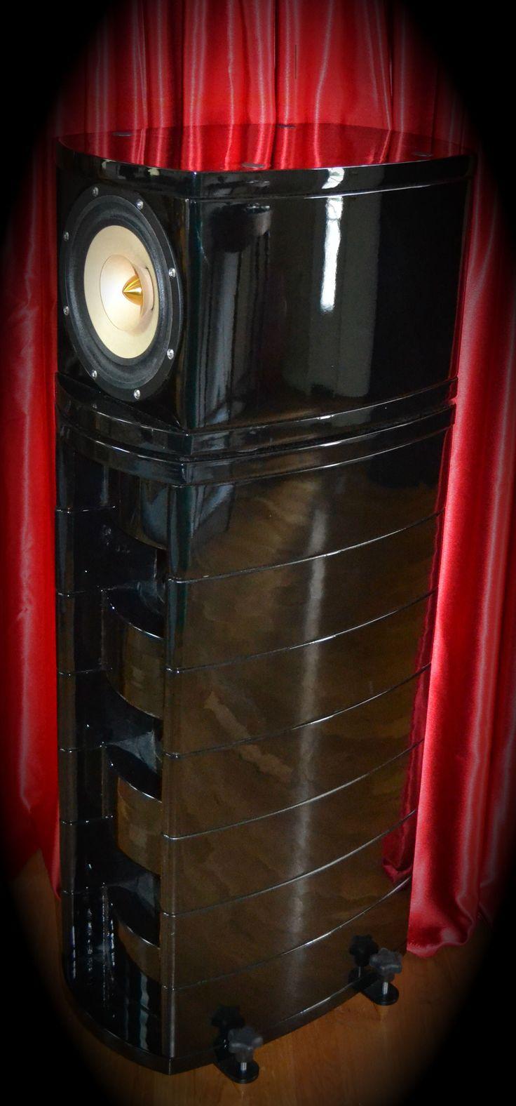 Fifth Row Speaker in Piano Black