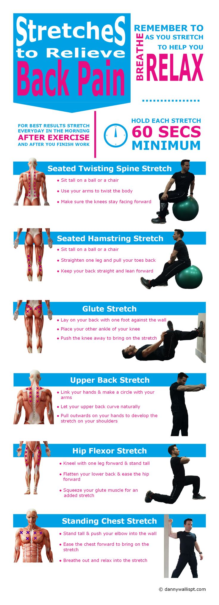 Stretches to Ease Back Pain