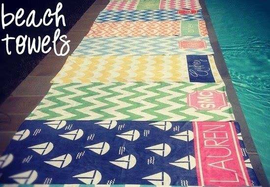 Have to have one of these. Never lose your beach towel!
