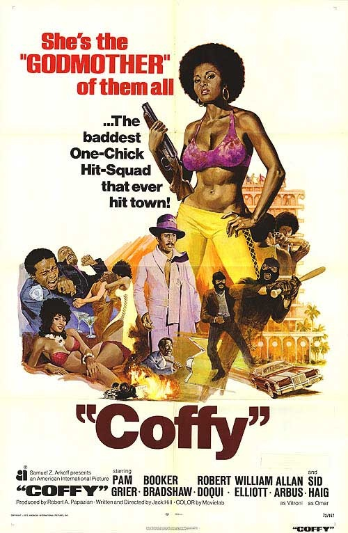 Foxy brown movie poster