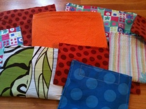 DIY reusable snack bags pattern ( repurposed )